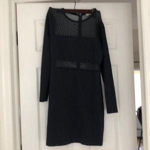 Navy long sleeve Michael Kors dress